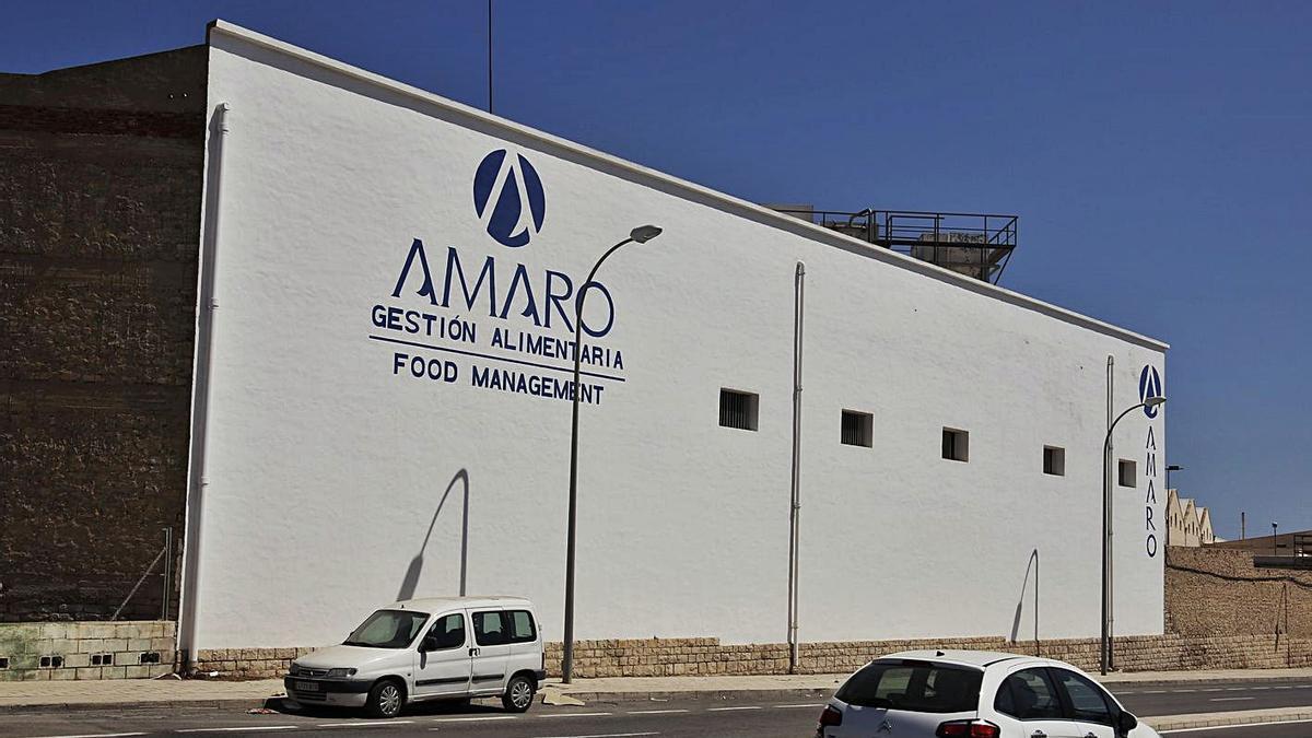 Las instalaciones del Grupo Amaro, en la ciudad de Alicante.
