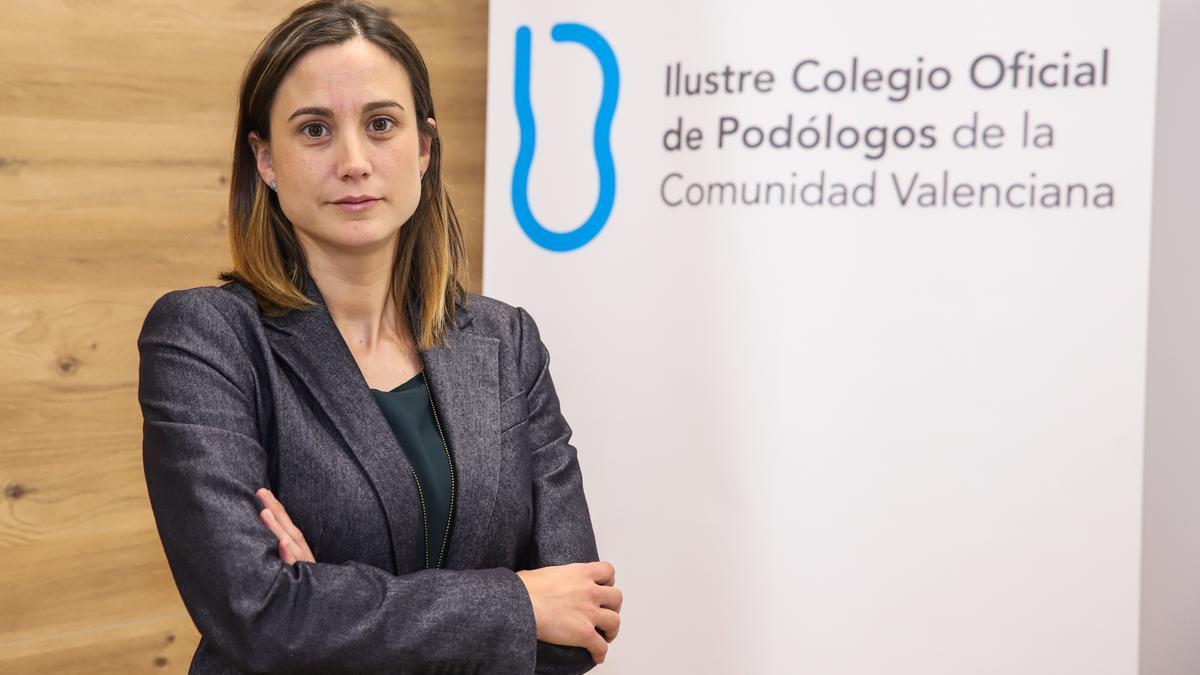Pilar Nieto, presidenta del ICOPCV.