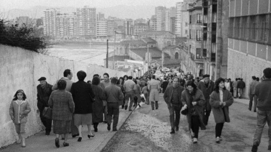 Aquella Asturias: Fotos antiguas de Gijón
