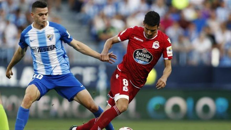 LaLiga 123: los goles del Málaga - Deportivo (0-1)