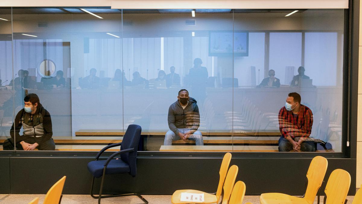 Imagen del juicio a los terroristas que atentaron el 17A en Cataluña.