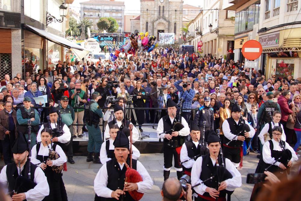 La fiesta de la la 51ª Feira do Cocido de Lalín. // Bernabé