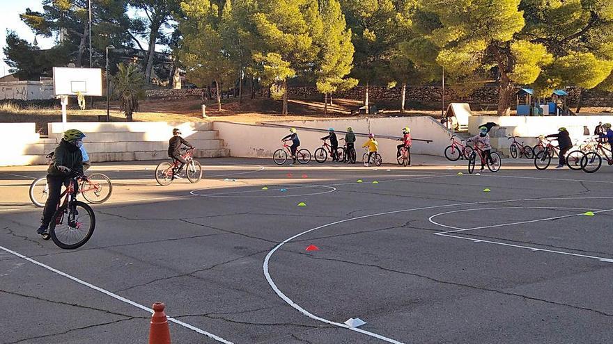 «Aula ciclista»  no s'atura per  la pandèmia