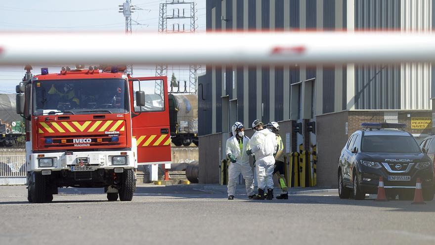 Fallecen dos trabajadores al caer desde una altura de diez metros en una fábrica de transformación de acero de Burgos