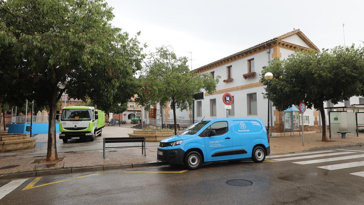 La plaza Santiago Castillo será reformada parcialmente.