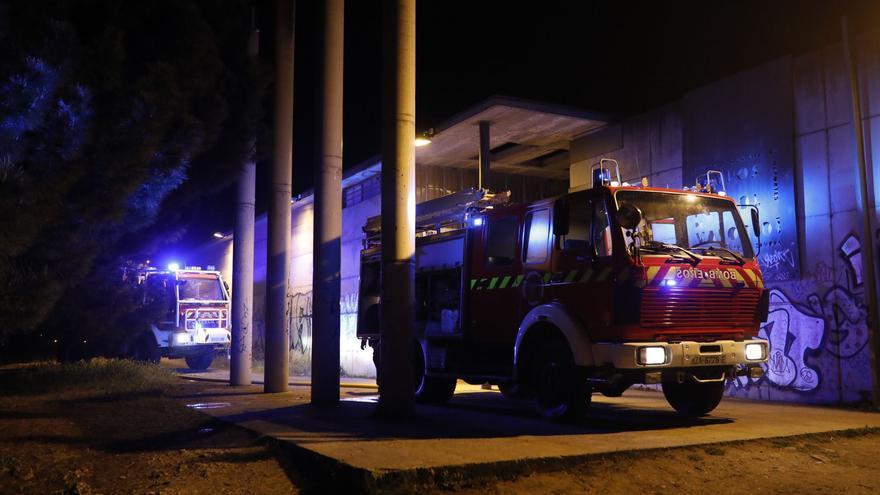 Un fallo eléctrico provoca un incendio en los campos de Valorio, en Zamora