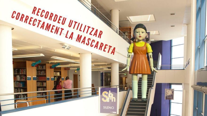 'El juego del calamar' llega a la universidad de Castelló
