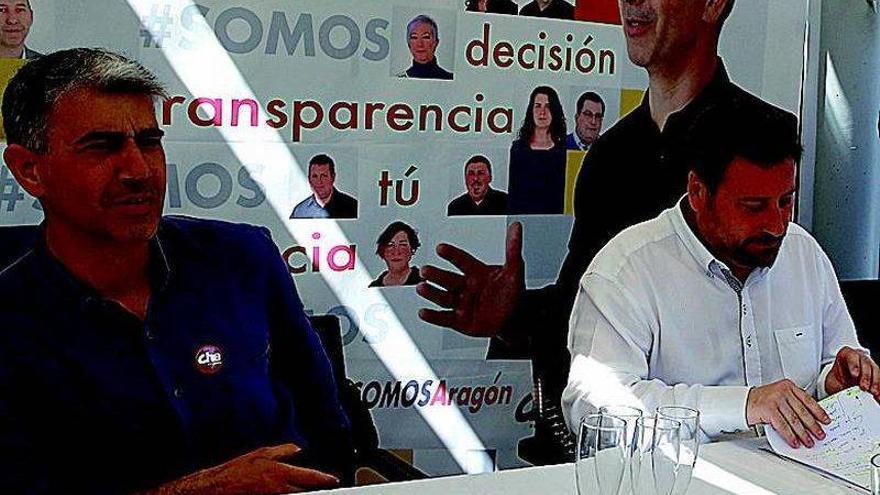 """CHA se presenta como los únicos aragonesistas """"de fiar"""""""