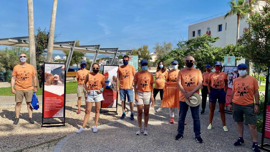 Más de 650 personas se movilizan en Mallorca con la Magic Line SJD