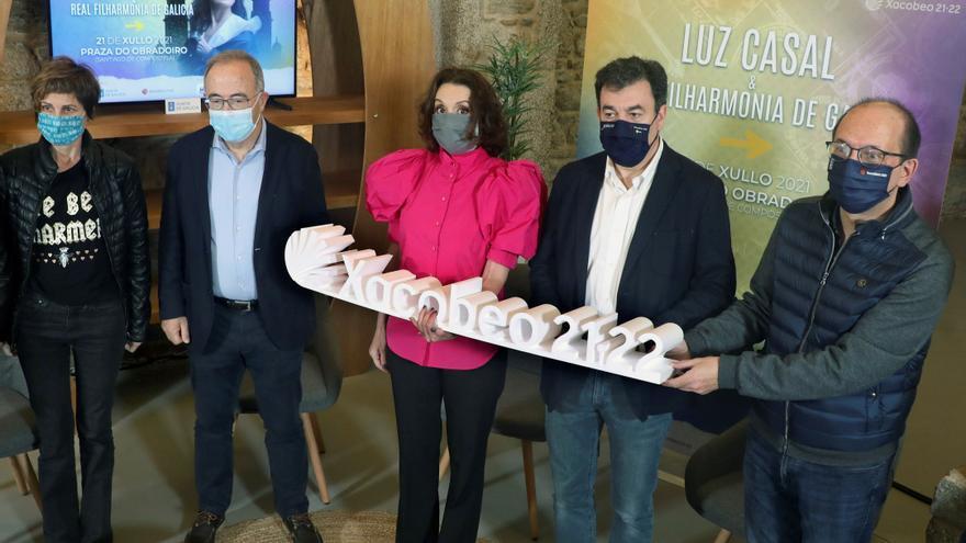 Luz Casal dará único concierto el 21 de julio en Santiago con la Real Filharmonía