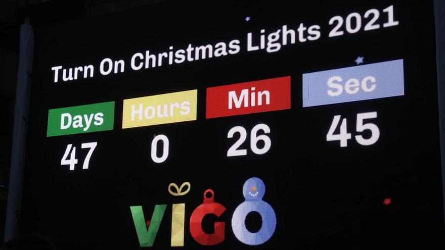 Vigo inicia la cuenta atrás para la Navidad