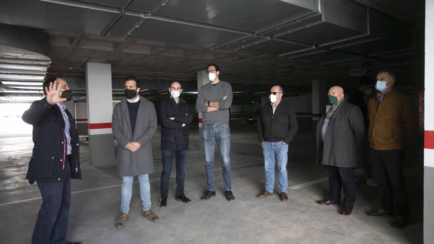 Así es el nuevo parking de Sagunto, que ha tenido que esperar 9 años.