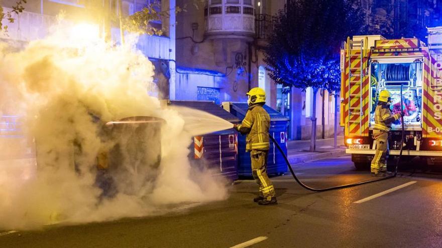 Tercera noche de disturbios en Logroño y León