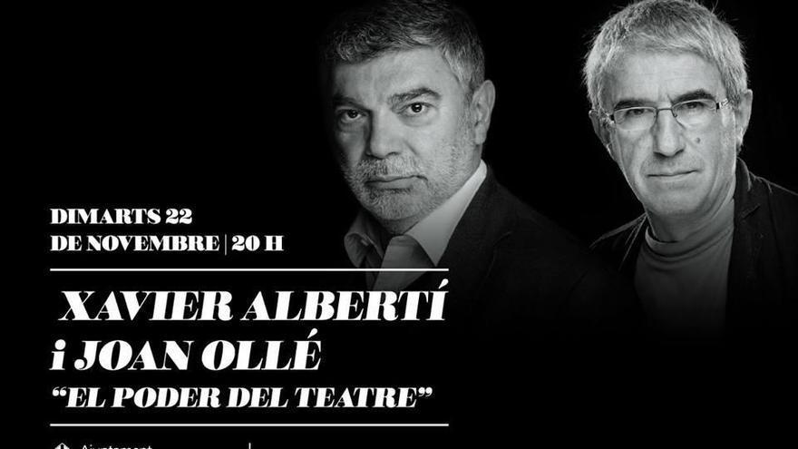 Xavier Albertí i Joan Ollé parlen del poder del teatre
