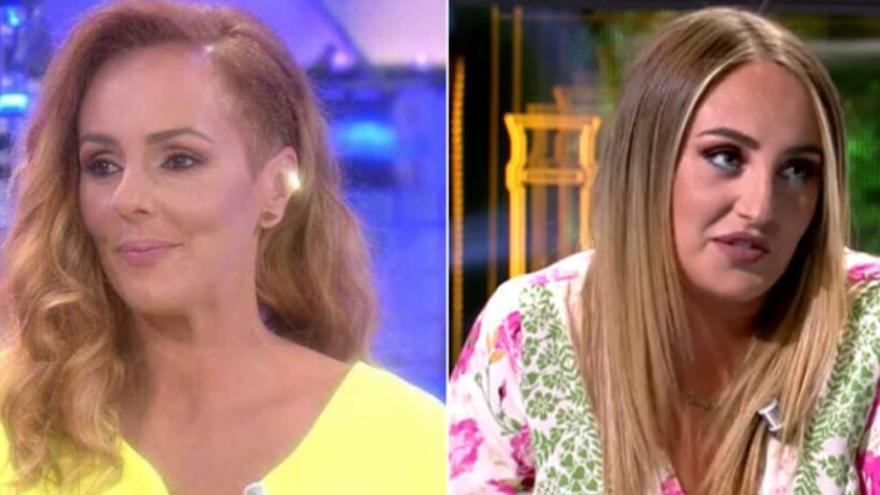 Todo lo que no se vio cuando Rocío Flores y Rocío Carrasco coincidieron en Telecinco