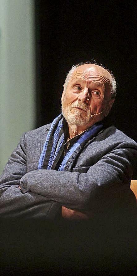 Antonio López, ayer, en Oviedo.   Irma Collín