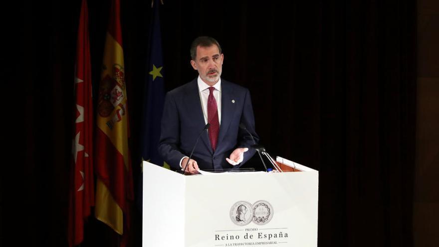 """El homenaje póstumo del Rey a Plácido Arango: """"Nunca podré olvidar ni agradecer suficiente su apoyo y sus consejos"""""""
