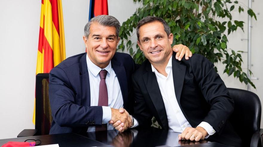El Barça anuncia el fitxatge de Sergi Barjuan per al filial