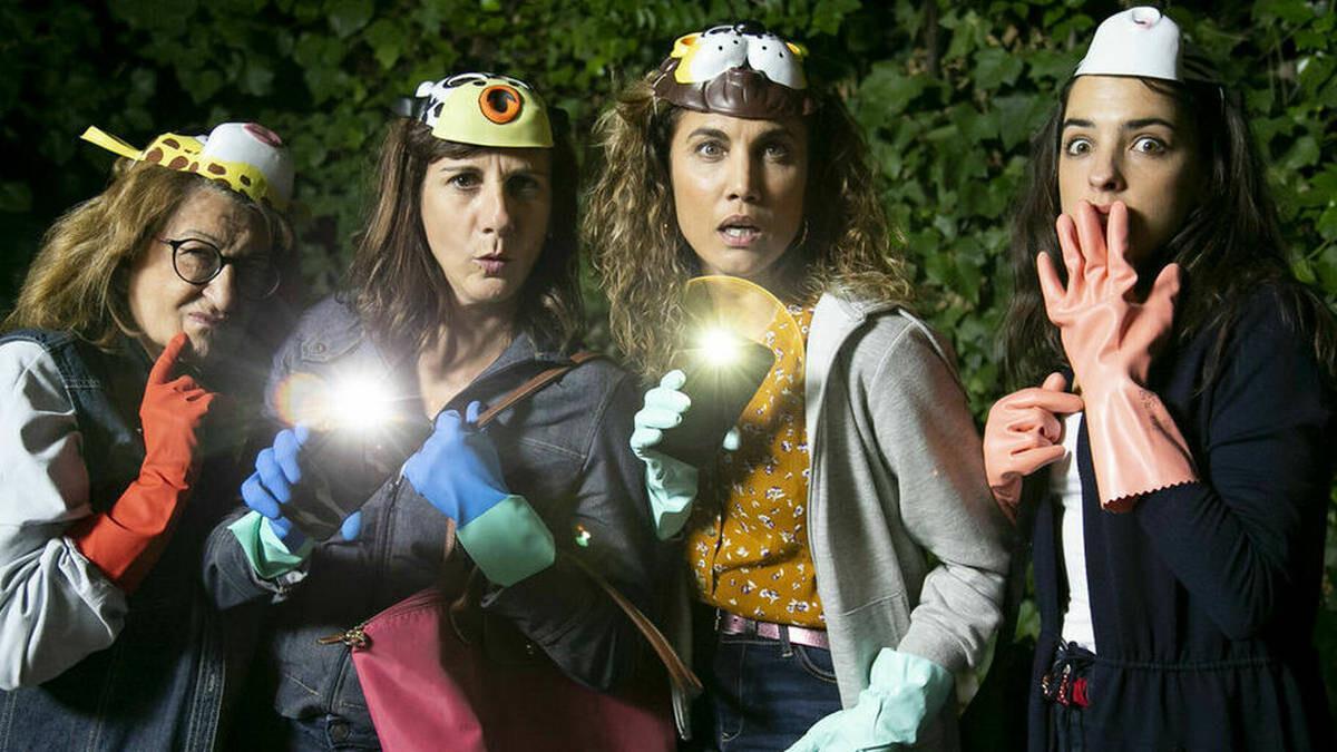 Mamen García, Malena Alterio, Toni Acosta and Nuria Herrero.