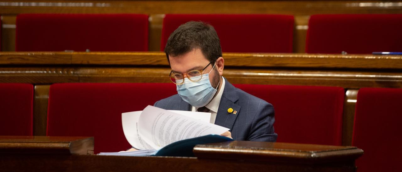 Pere Aragonès (ERC).
