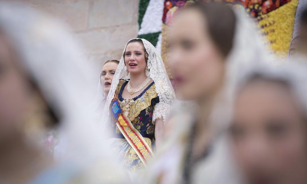 Fallas 2019: Ofrenda en Borriana