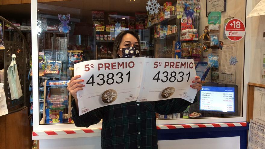 Lotería de Navidad | El 43831 deja 18.000 euros en A Coruña
