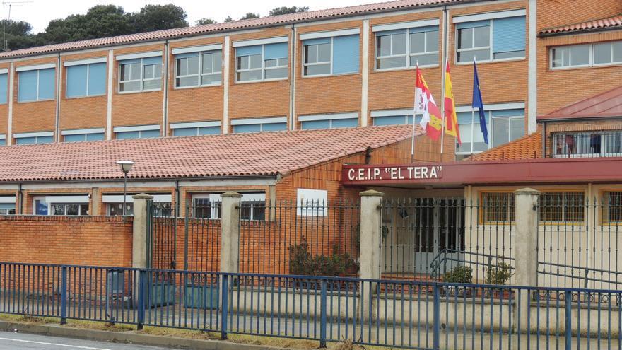 Colegio de Camarzana de Tera, donde se van a realizar mejoras de actuación.