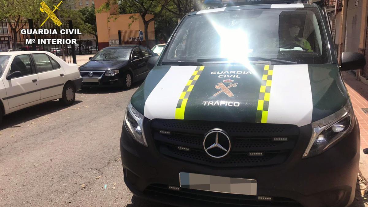 Cazan a un conductor novel triplicando la velocidad máxima en Cartagena