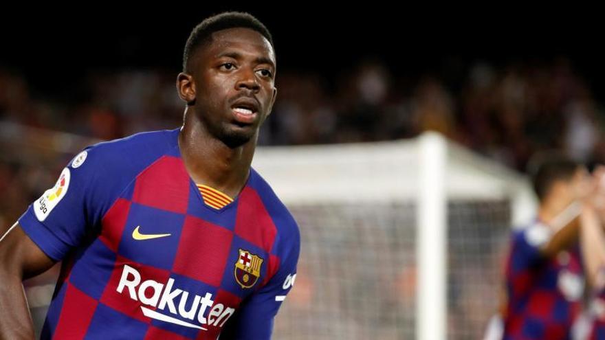 Dembélé, sancionat amb dos partits, es perd el Barça-Madrid