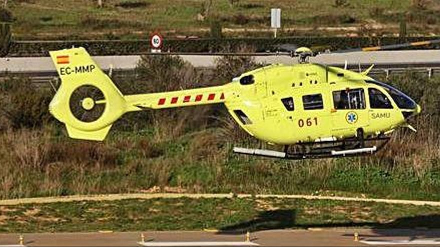 El Govern rescinde el contrato del servicio aéreo del 061 por  los incumplimientos de Eliance
