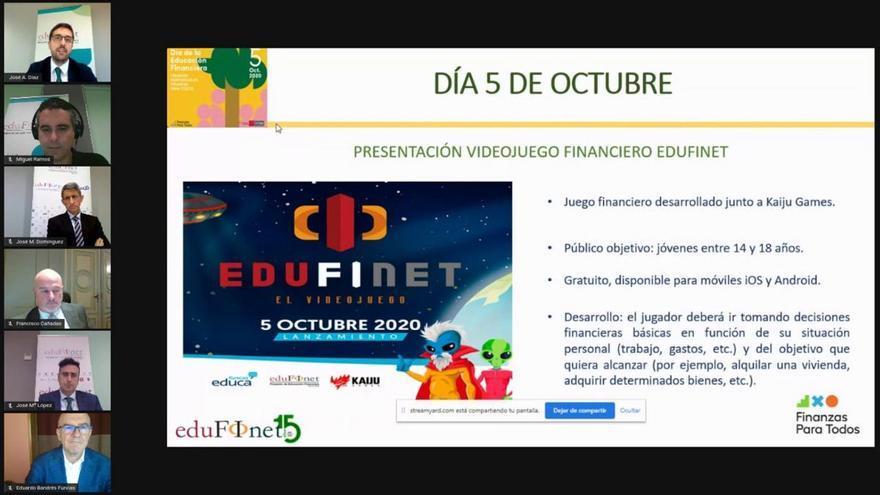 Edufinet lanza un videojuego financiero gratuito