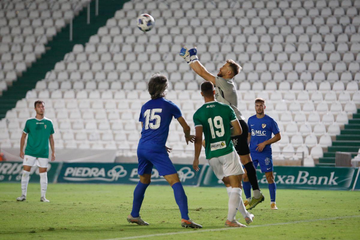 Las imágenes del Córdoba Cf contra el Linares