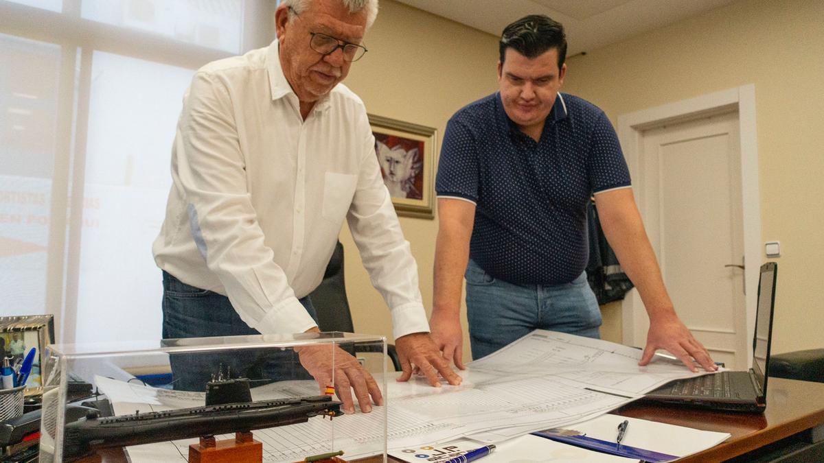 Muestran los planos de la réplica del S-81
