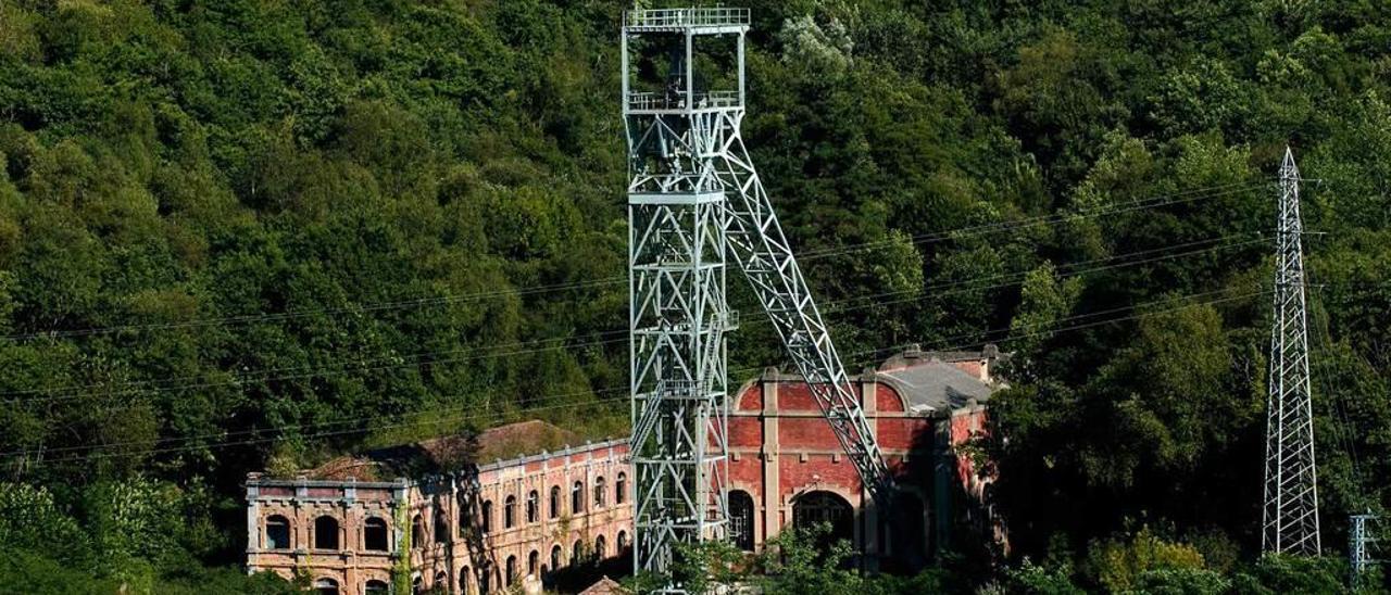 Instalaciones del pozo Mosquitera, donde se llegó a plantear un proyecto de búsqueda de hidrocarburos.