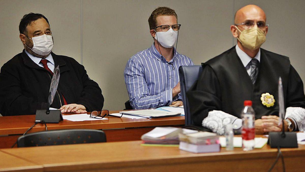Gabriel C. A., el acusado de asesinar a sus hijos,.
