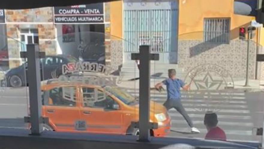 Pelea a machetazos en Tenerife