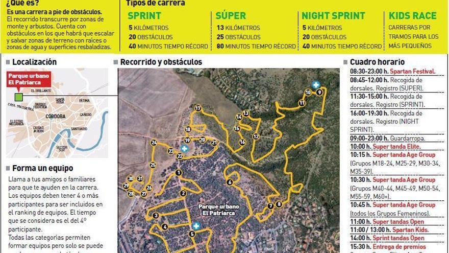 La Spartan Race Córdoba reúne a 3.000 corredores de 27 países