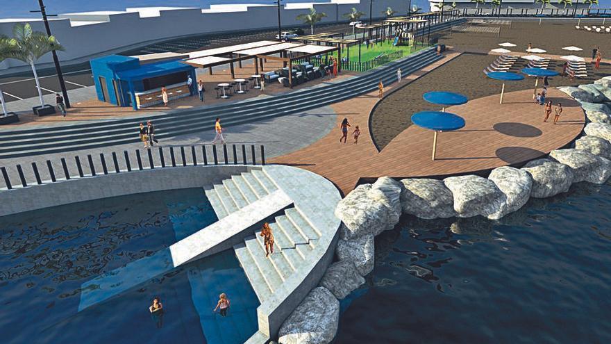 Satocan se adjudica la mejora  de la playa de El Perchel