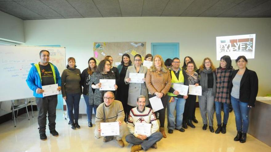 Nuevo programa de formación e inclusión laboral en Vilagarcía