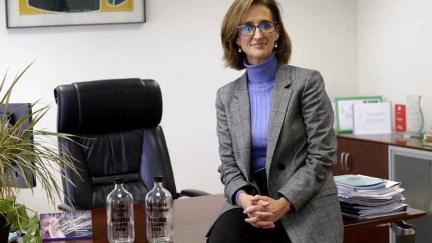 Inmaculada Serrano, nueva directora gerente de Aguas de Murcia