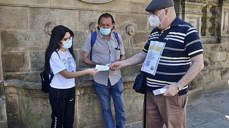 Boa Vida recoge firmas por la Renta Básica Europea