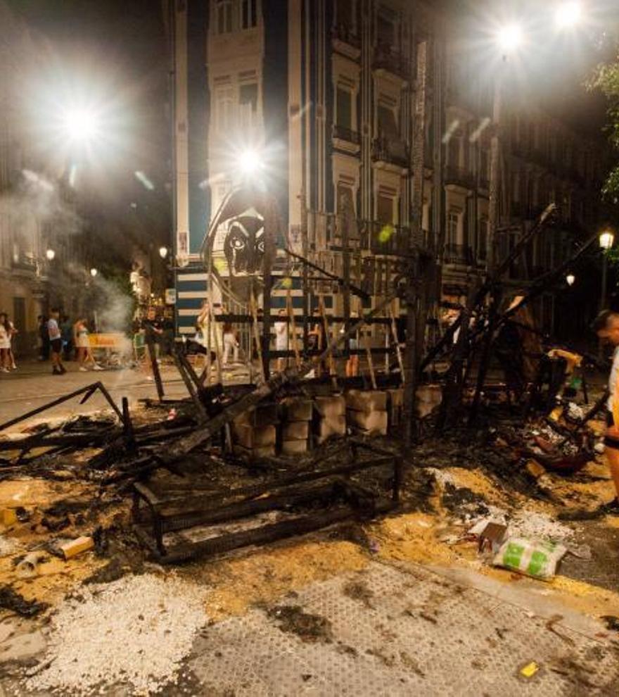 La 'cremà' va deixar 2.300 tones de cendra a València