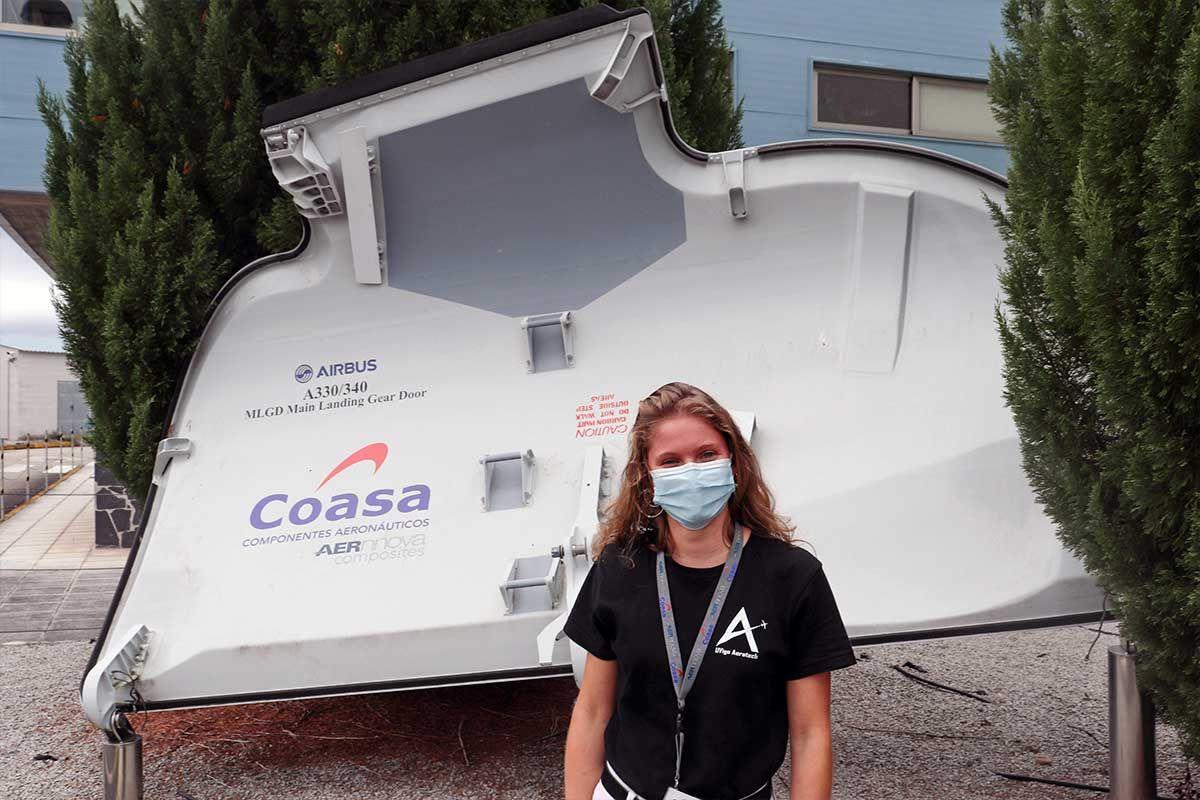 Visita a Coasa, empresa patrocinadora