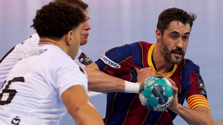 El asturiano Raúl Entrerríos, ante su última Copa del Rey de balonmano