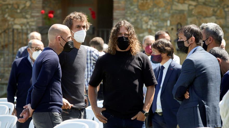 Medio millar de personas despiden en Girona a Francesc Arnau