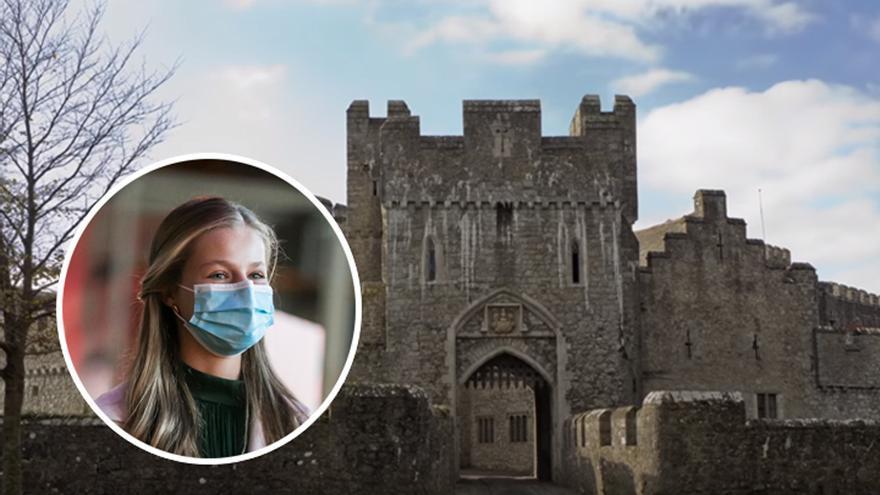 Así es el colegio en Gales de la Princesa Leonor: un castillo del siglo XII con habitaciones para compartir