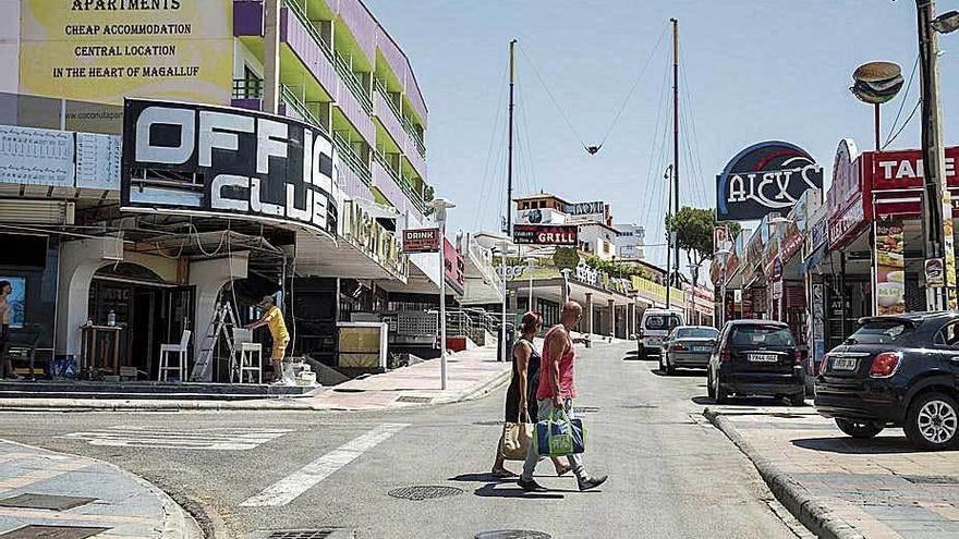 Un Magaluf sin turistas