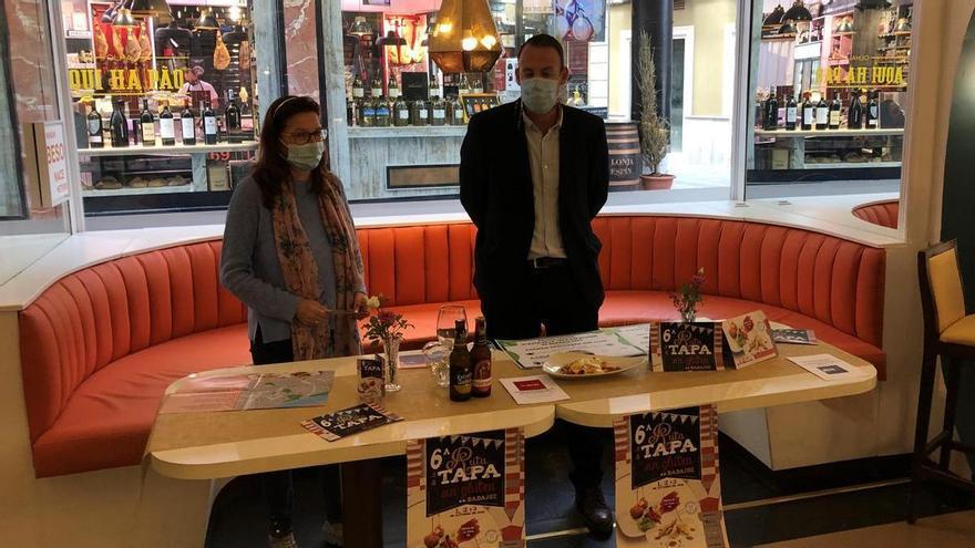 Entregados los premios de la sexta edición de la ruta de la tapa sin gluten de Badajoz