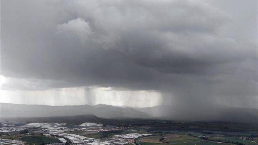 Alerta amarilla en parte de Teruel por lluvias y tormentas