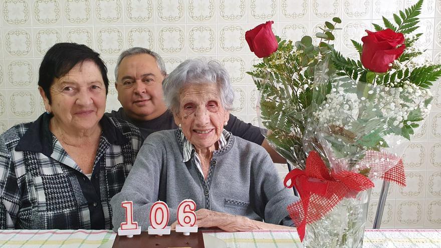 """Fallece a los 106 años la sotobarquense y vecina de Naveces """"Tila"""""""